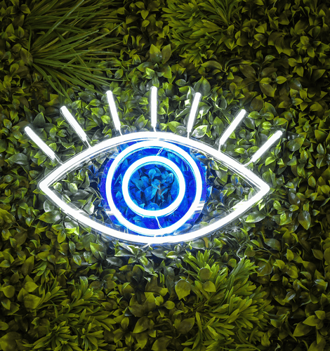 Lucky Eye - LED neon sign - yellowpop