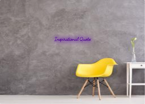 Custom order: Inspirational Quote