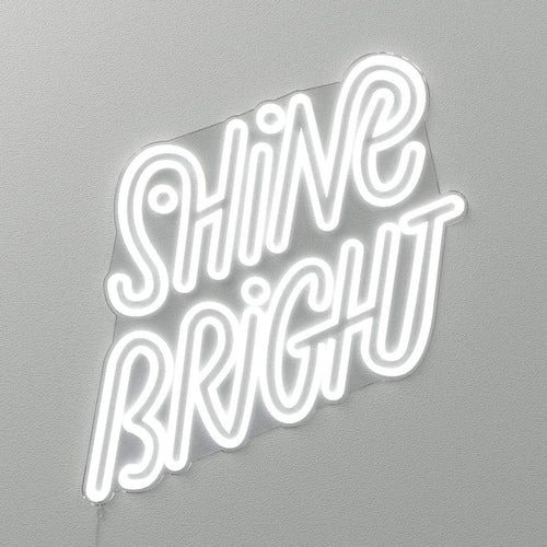 Shine Bright by Stephane Lopes - LED Neon Sign - yellowpop