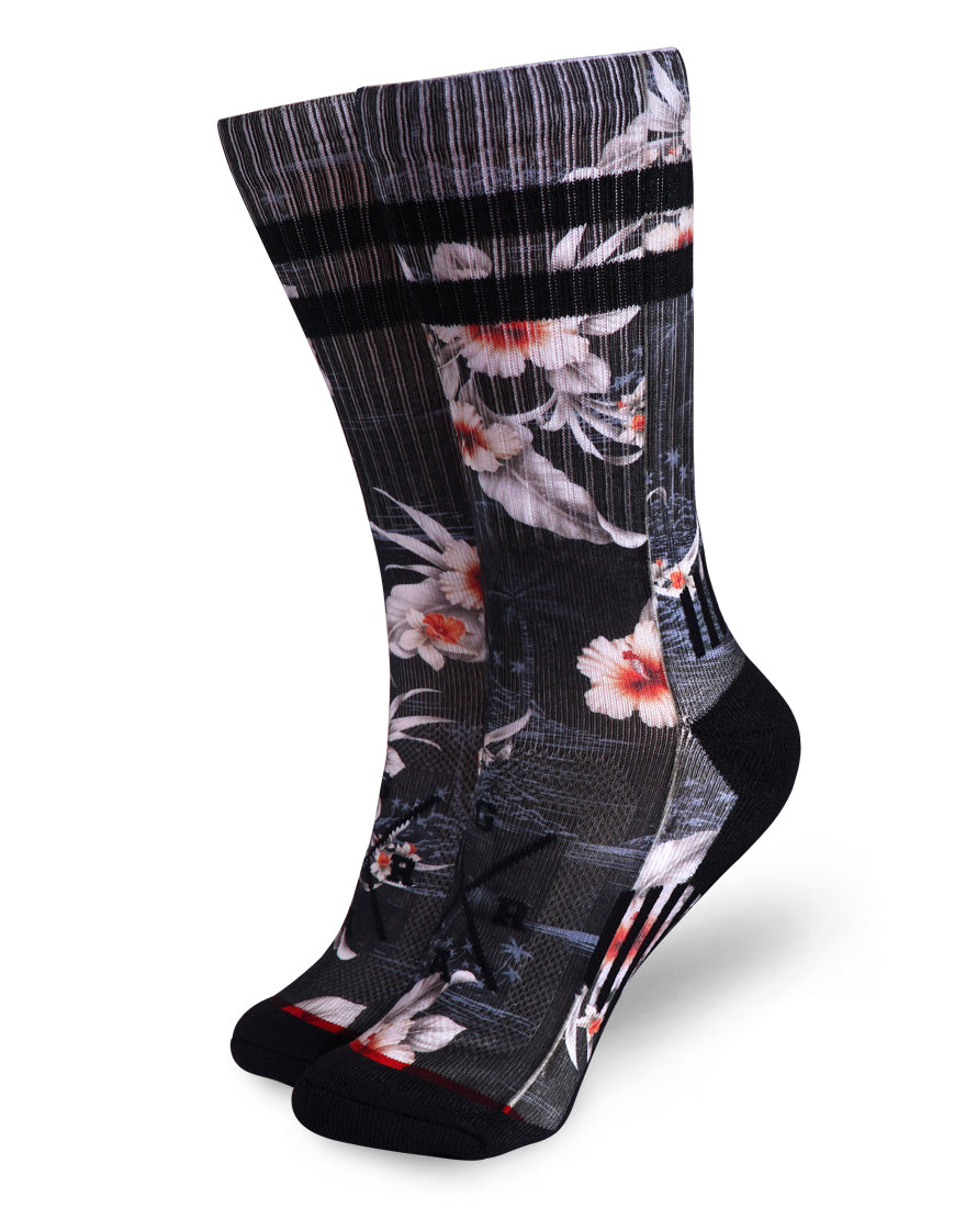 Loose Riders Socks - Black island