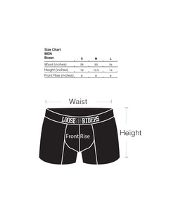 Loose Riders Boxer briefs - Black & Camo