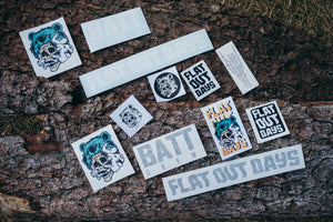 Flat Out Days Stickers
