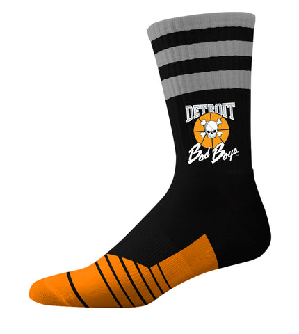 Bad Boy Classic Crew Socks - Black