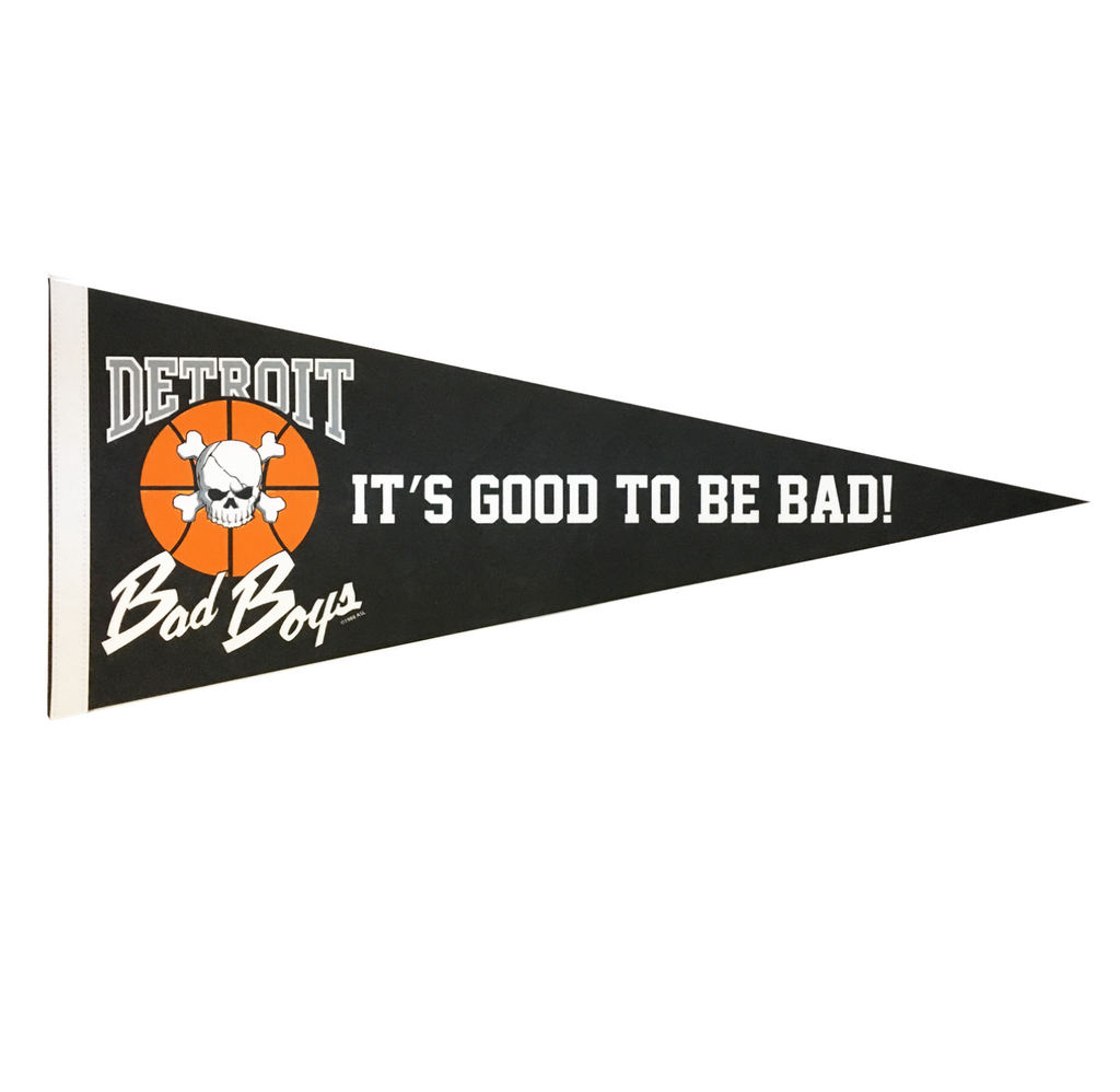 Detroit Bad Boys Pennant