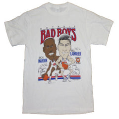 "Mahorn and Lambeer ""Bad Boys"" Caricature T-Shirt"