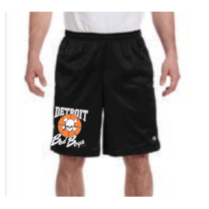 Detroit Bad Boys Performance Shorts