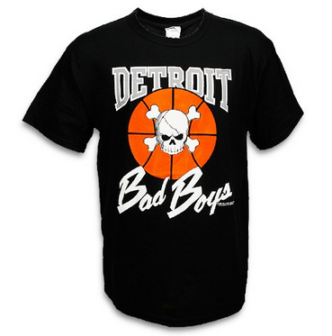 Wholesale * Detroit Bad Boys Classic T-Shirt
