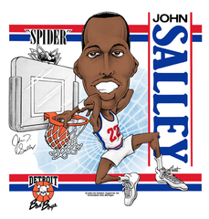 "John ""The Spider"" Salley Caricature T-Shirt"