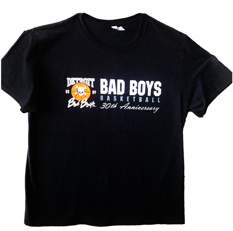 30th Anniversary 88-89 Detroit Bad Boys T-shirt