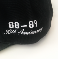 30th Anniversary 88-89 Detroit Bad Boy 6-panel Black FlatBill Cap