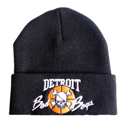 Wholesale * Detroit Bad Boys Cuffed Beanie