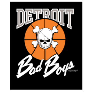 Original Detroit Bad Boys Poster