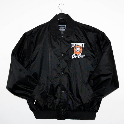 Detroit Bad Boys Twill Coaches Jacket