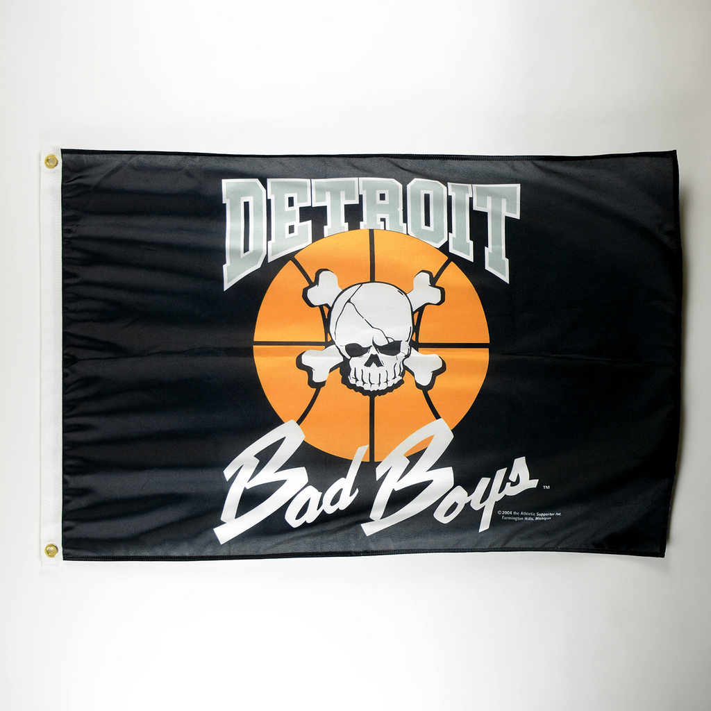 Original Detroit Bad Boys Flag