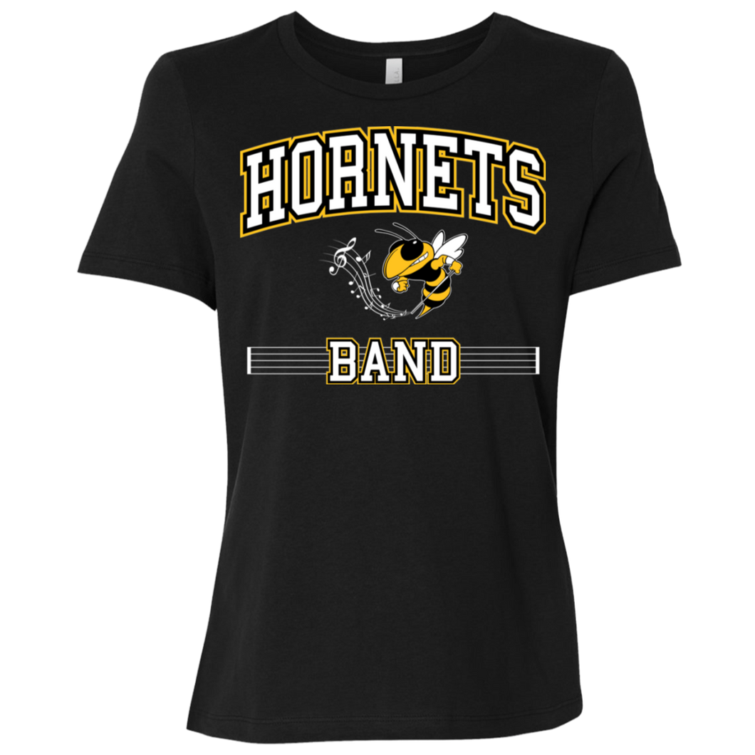 Hornets Band Ladies' Relaxed Jersey Short-Sleeve T-Shirt