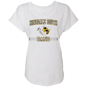 Hinsdale South Band Ladies' Triblend Dolman Sleeve