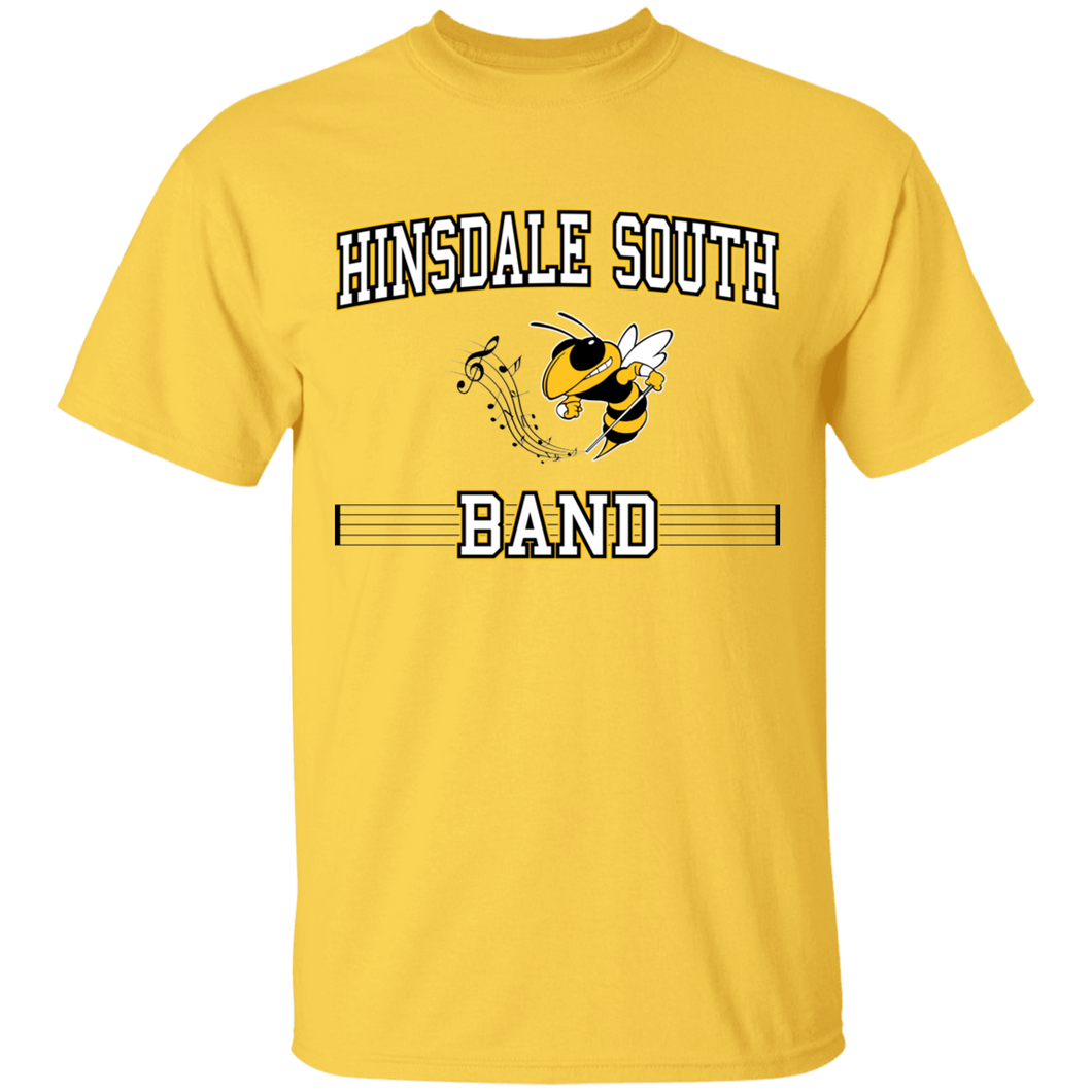 Hinsdale South Band Block Tee