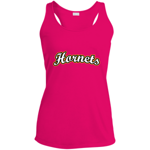 Hornets Ladies' Racerback Moisture Wicking Tank