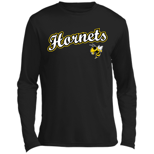 Hornets Long sleeve Moisture Absorbing T-Shirt