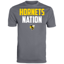 Load image into Gallery viewer, Hornets Nation Men's Wicking T-Shirt