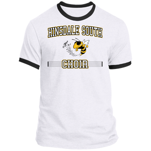 Hinsdale South Choir Block Ringer Tee