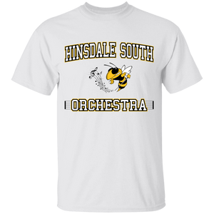 Hinsdale South Orchestra Block Youth  T-Shirt