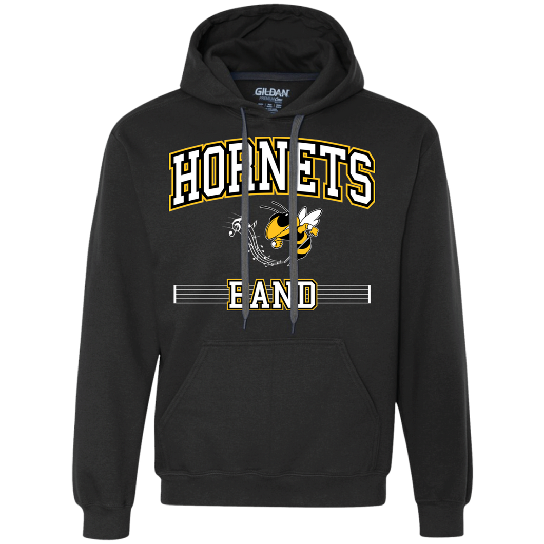 Hornets Band Heavyweight Pullover Fleece Sweatshirt