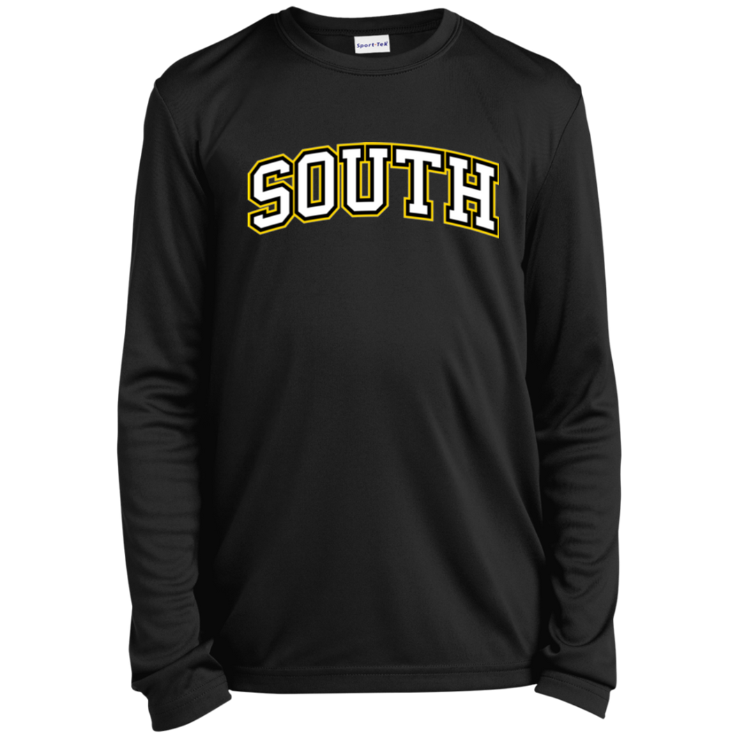 South Youth Long Sleeve Moisture-Wicking T-Shirt