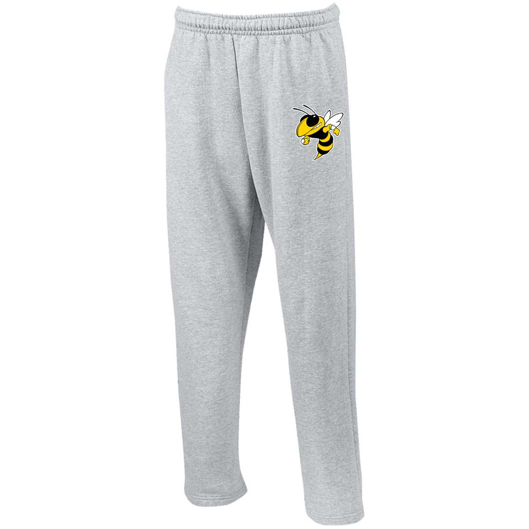 Hornet Open Bottom Sweatpants with Pockets