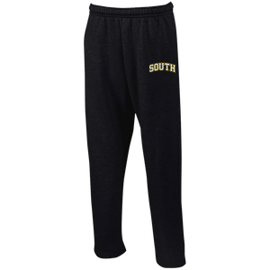 South Open Bottom Sweatpants with Pockets