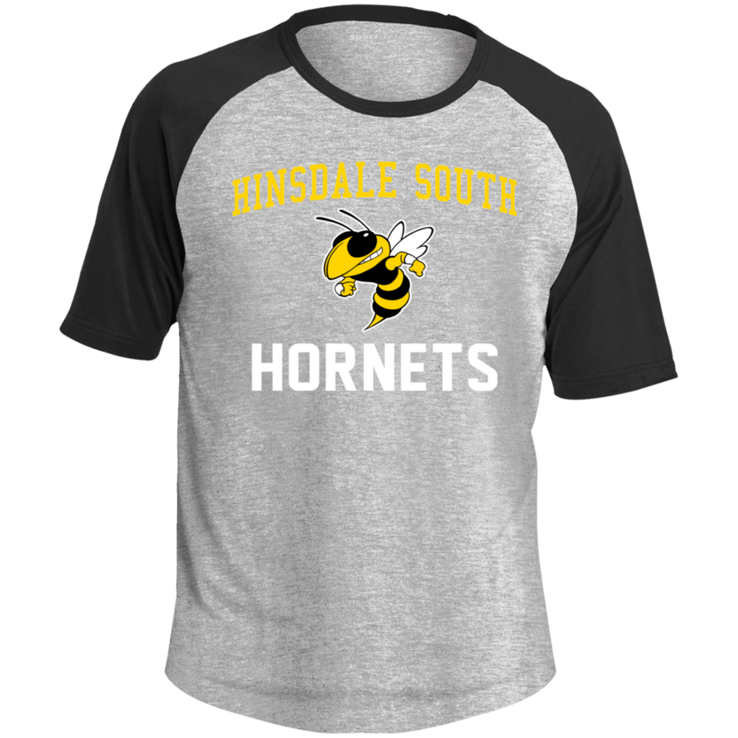 Hinsdale South Hornets Colorblock Raglan Jersey