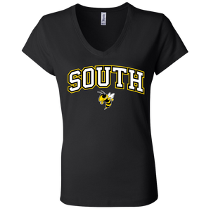 South Ladies' Jersey V-Neck T-Shirt