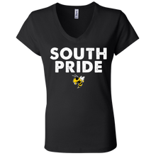 Load image into Gallery viewer, South Pride Ladies' Jersey V-Neck T-Shirt