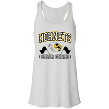 Load image into Gallery viewer, Hornets Color Guard Flowy Racerback Tank