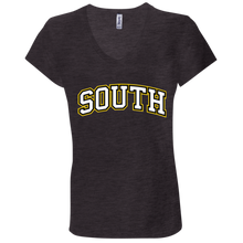 Load image into Gallery viewer, South Ladies' Jersey V-Neck T-Shirt