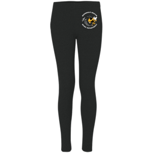 Hinsdale South Music Embroidered Women's Leggings