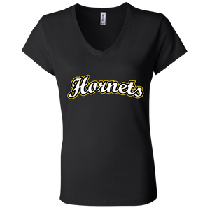 Hornets Ladies' Jersey V-Neck T-Shirt
