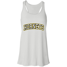Load image into Gallery viewer, Hornets Flowy Racerback Tank