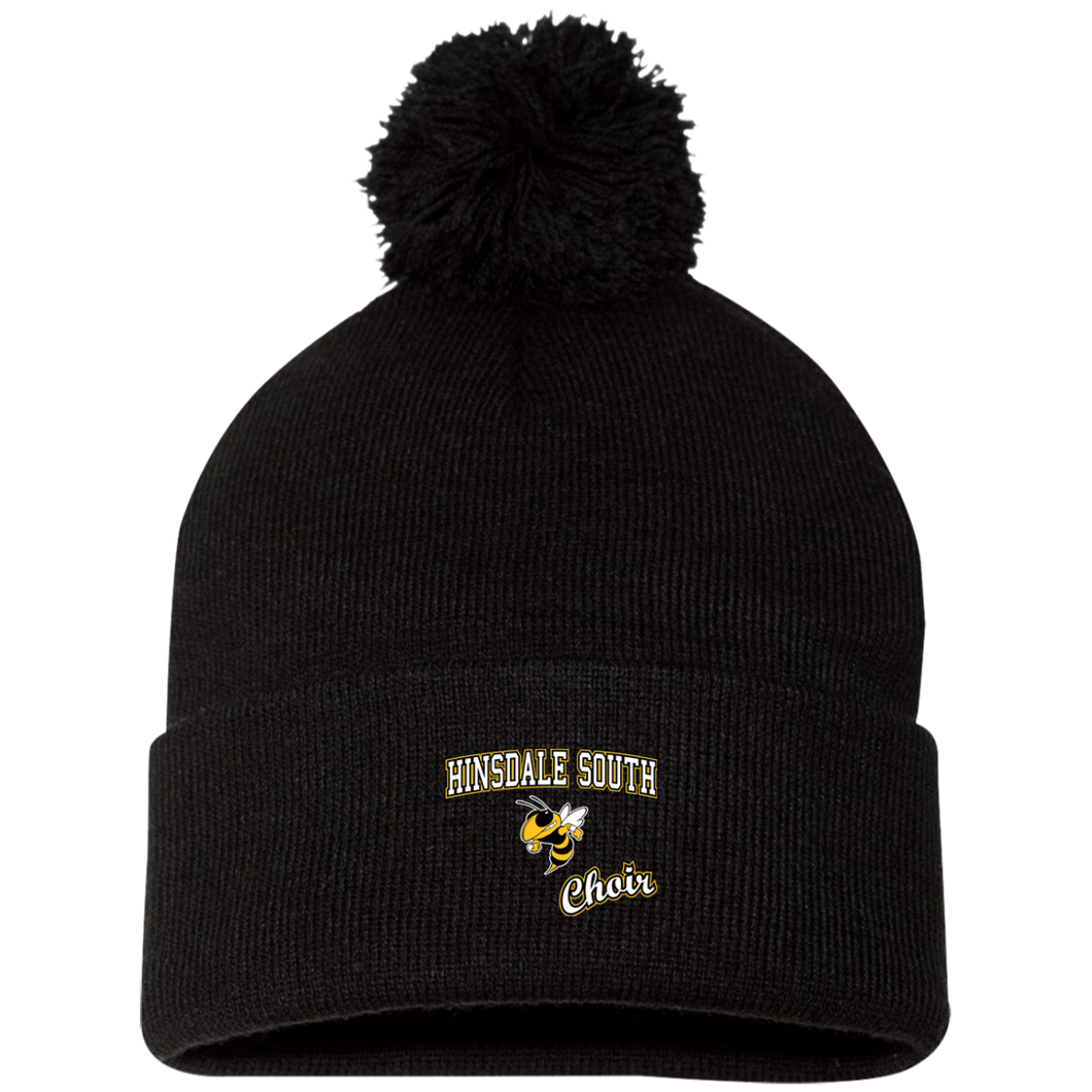 Choir Pom Pom Knit Cap