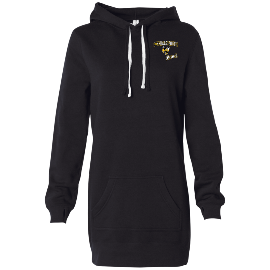 Band Women's Hooded Pullover Dress