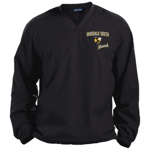 Band Pullover V-Neck Windshirt