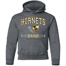 Load image into Gallery viewer, Hornets Band Youth Pullover Hoodie