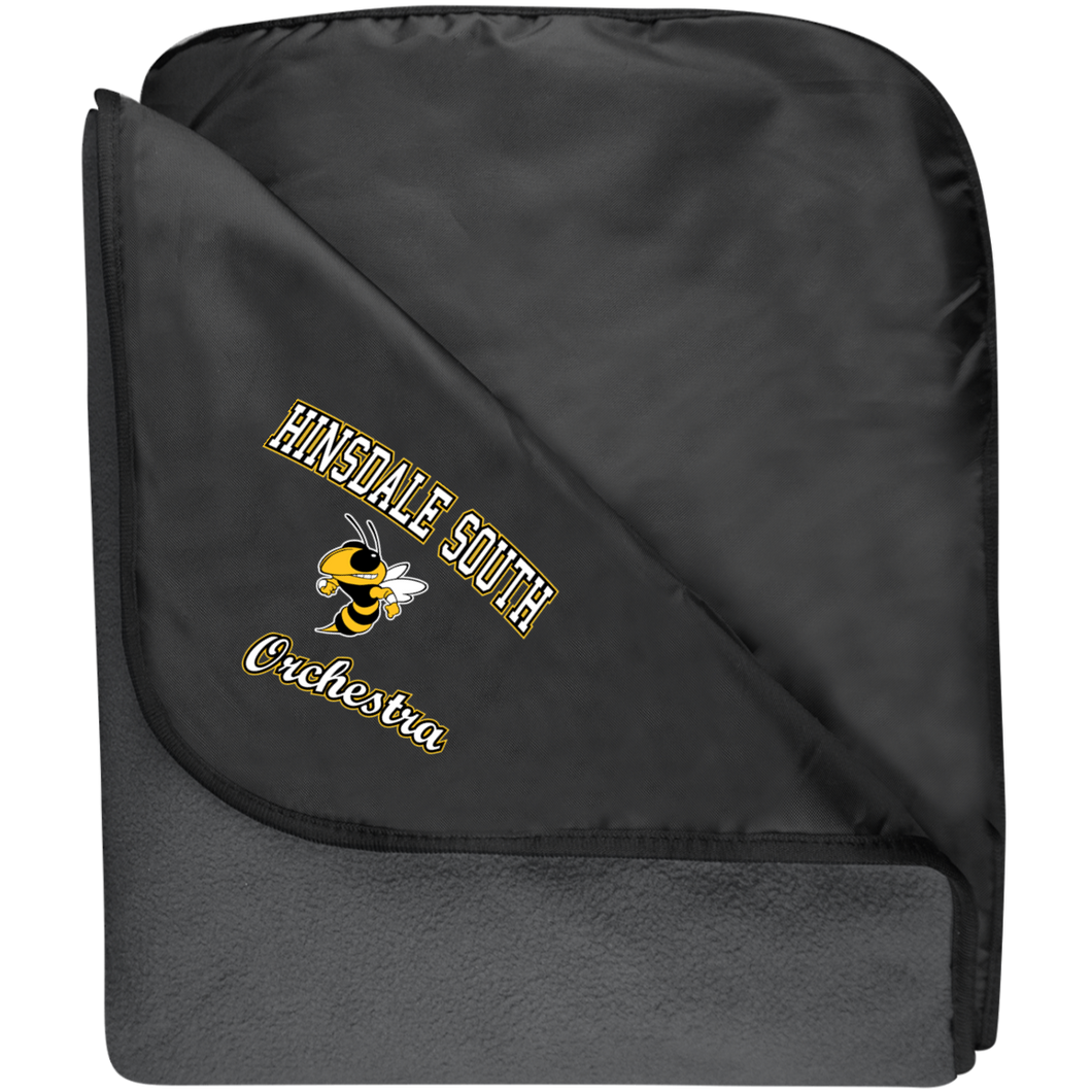 Orchestra Fleece & Poly Travel Blanket