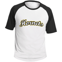 Load image into Gallery viewer, Hornets SS Colorblock Raglan Jersey