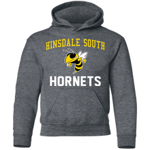 Load image into Gallery viewer, Hinsdale South Hornets Youth Pullover Hoodie
