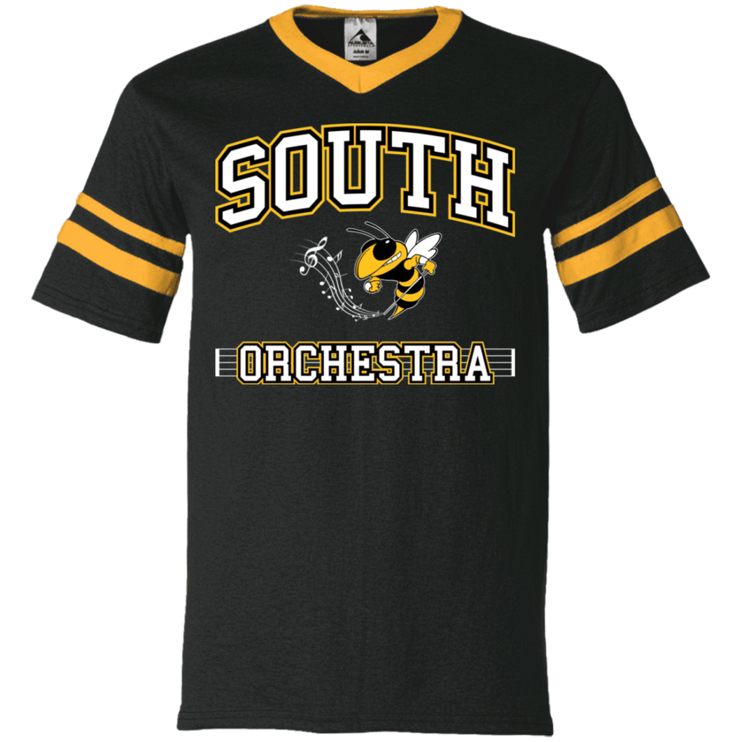 South Orchestra V-Neck Sleeve Stripe Jersey