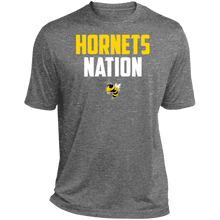 Load image into Gallery viewer, Hornets Nation Heather Dri-Fit Moisture-Wicking T-Shirt
