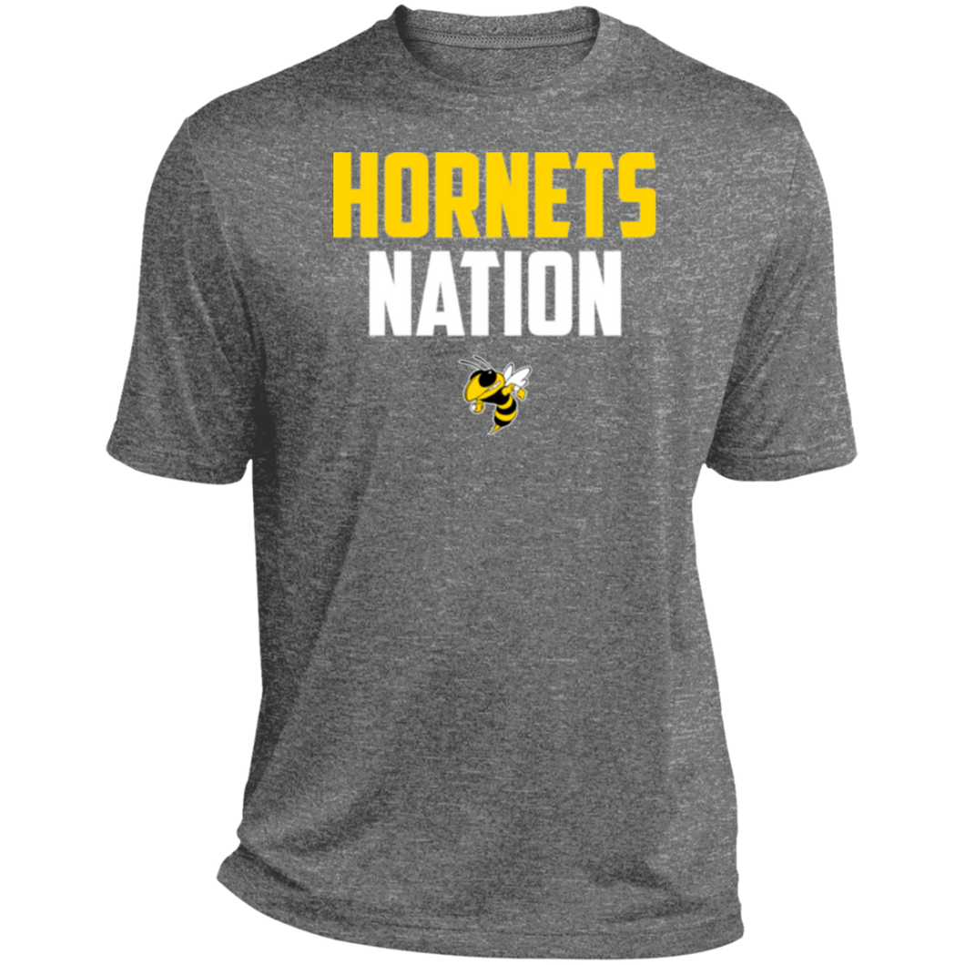 Hornets Nation Heather Dri-Fit Moisture-Wicking T-Shirt