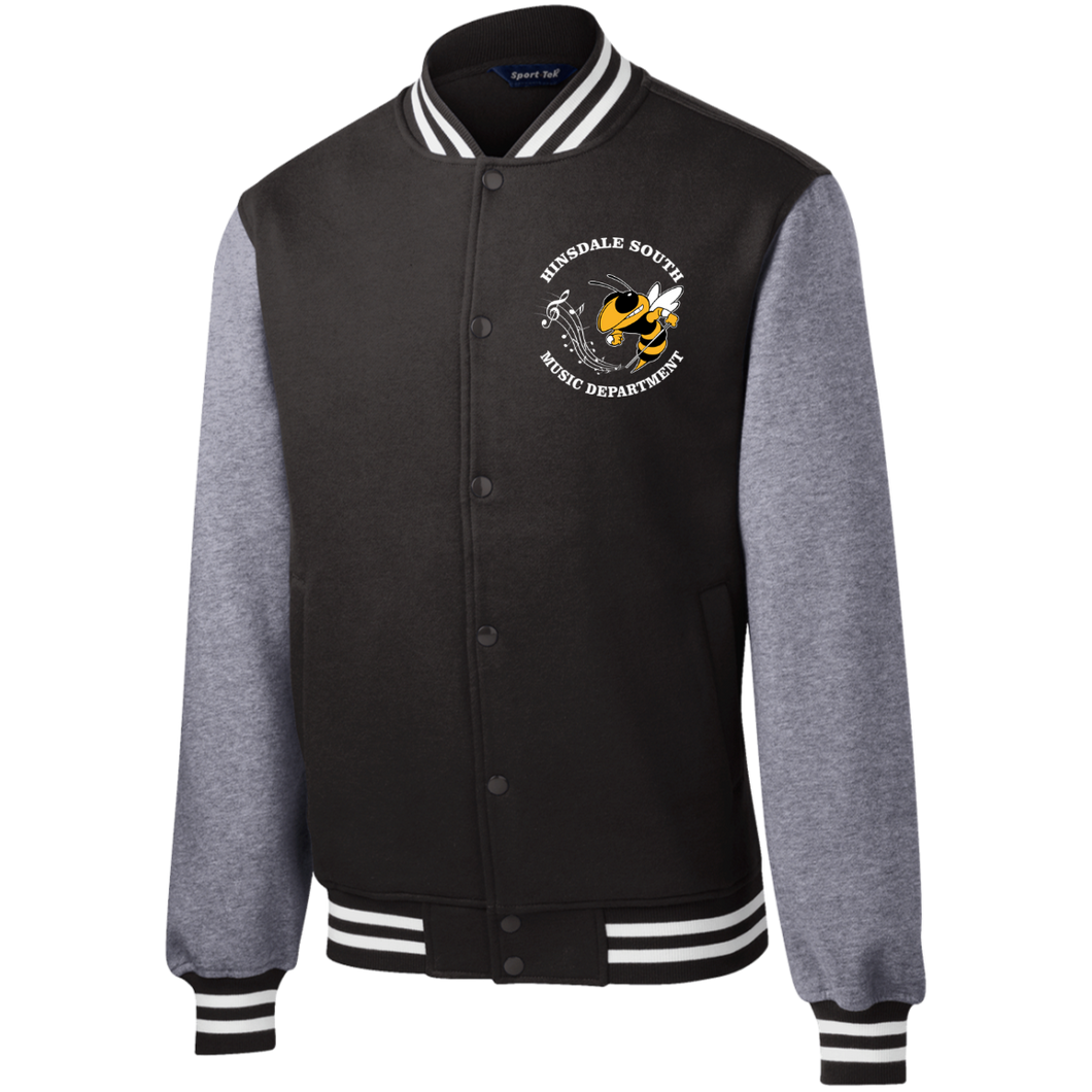 Hinsdale South Music Department Fleece Letterman Jacket