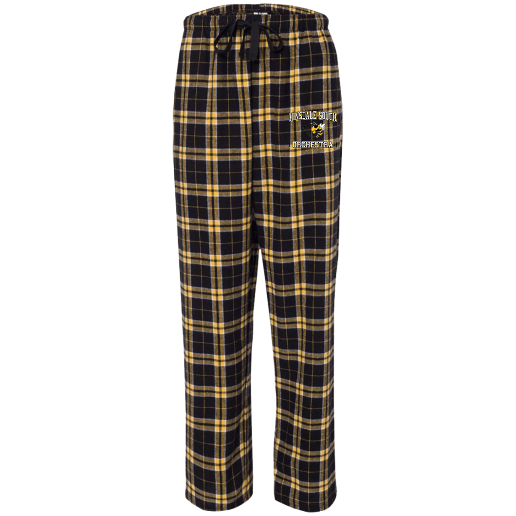 Hinsdale South Orchestra Unisex Flannel Pants